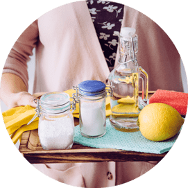 Cleaning your home naturally – or just about!