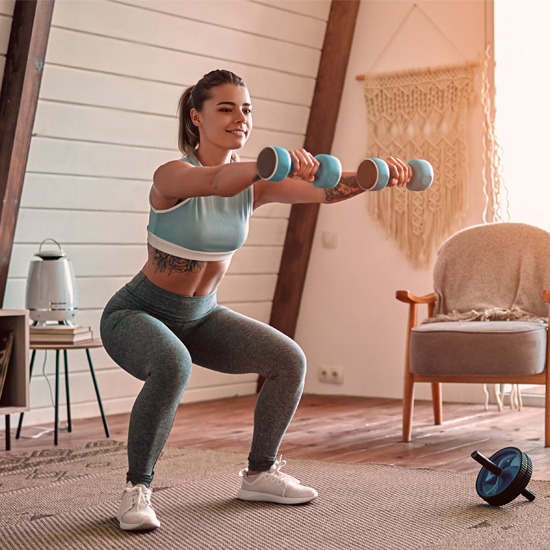 Staying fit at home without a gym